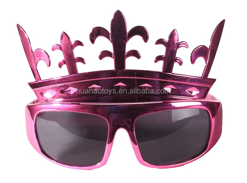 Top Sale Promotional Purple Mask Sunglasses Wholesale For Party