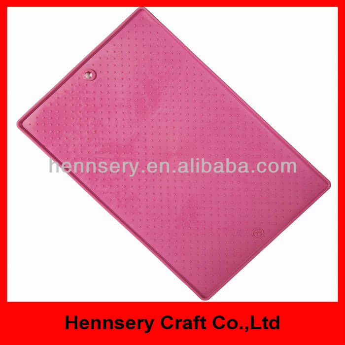 rubber silicone OEM design logo small rubber pet food mat for dog