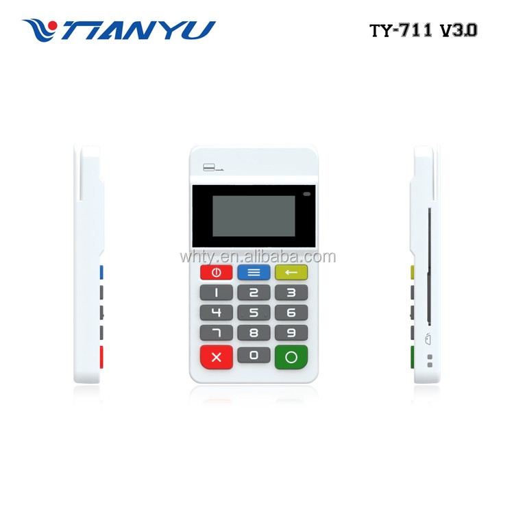 Hot sale EMV chip & PIN , mpos terminal pos with RFID/NFC wireless smart card reader