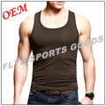 2017 Custom gym vest cool sleeveless singlet clothing tank top for men OEM stringer