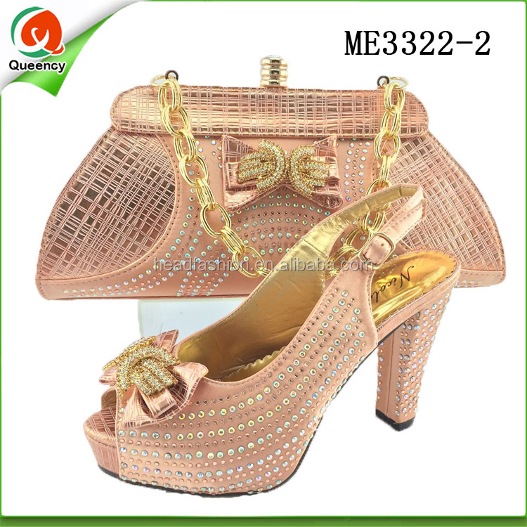 women shoes ladies italian matching shoes and bags direct buy china ME3322-2