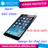 Hot Selling Japan Asahi Glass 9H ultra clear anti blue light laptop tempered glass screen protector for iPad mini tempered glass