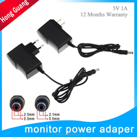 OEM factory ac 100 240v dc 5v 1a 5w power supply adapter for cctv led
