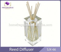 Factory Direct home decoration 60ml crystal glass Mango scented reed diffuser