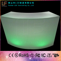 2015 Led Bar Counter Commercial Bar Counter furniture coffee shop tables and chairs LGL-1574