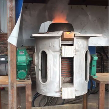 1ton small induction steel melting induction furnace oven for sale