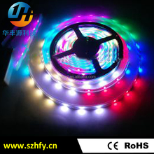 High lumens flexible led strip smd 5050 DC12V/24V waterproof rgb led light strip with CE RoHS approval