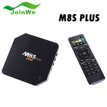 Cheapest New Mould S905 Android Tv Box M8s Plus Quad Core 2gb 16gb wireless keyboard and mouse