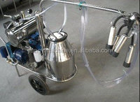 New Type 2016 Trolley Cow Milking Machine For Sale /portable milking machine /Goat Milking Machine