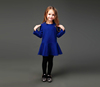 New design girls party dresses woolen dress for winter dresses of party for girls of 10 to 15 years