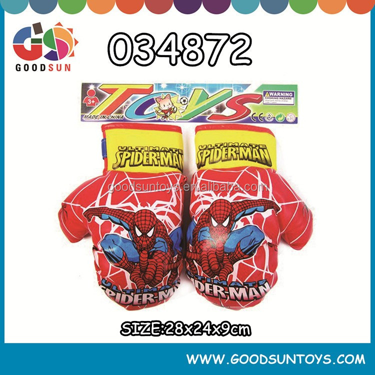 Mini sport cartoon gloves for kids for boxing set