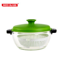 Home cookware enamel glass casserole