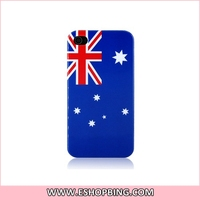 KN140 Australian Flag Back Hard Case Cover for Apple for iphone 4G