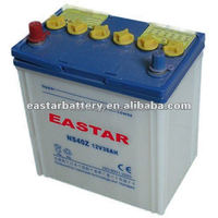 China manufacturer Wholesale Lead-Acid Car/Truck/Bus Battery N40 12V 40Ah