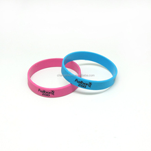 Cheap wholesale different color gym silicone wristband