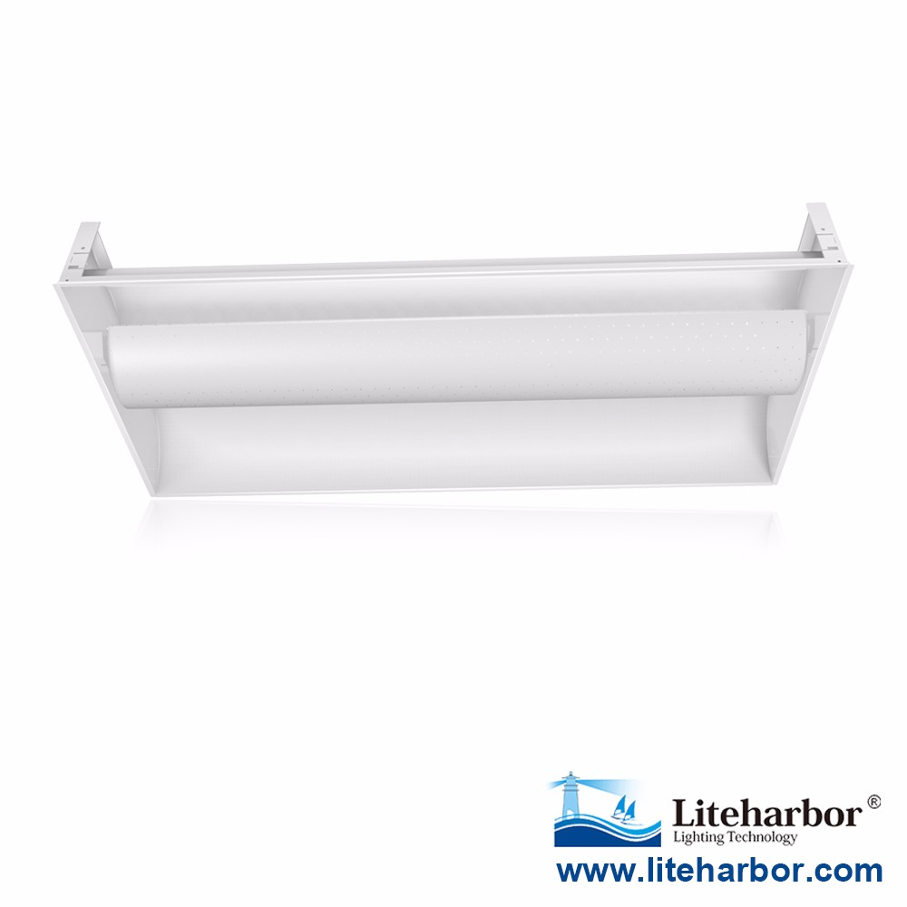 4400lm 6400lm 32W 48W 64W 2x4ft Troffer Recessed LED Direct Indirect Light