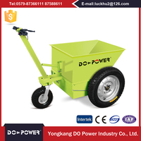 Industrial VRLA Electric Mini Concrete Feeding Dumper Truck