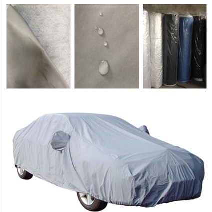 2 Layer Heavy Duty Waterproof Cotton Lining Scratch Proof Car Body Cover
