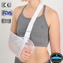 Orthopedic Arm Sling with Pad Shoulder Immobilizer Mesh Fabric