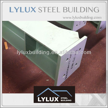 Prefabricated steel structural beam precise welded steel