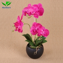 Nearly Natural beautiful high quality Fabric orchid arrangement butterfly orchid artificial flower Potted