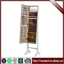 Standing Mirror Jewelry Cabinet Designs For Small Bedroom