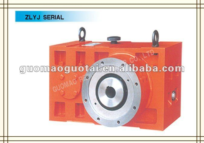 GUOMAO Hot Sale ZLYJ series type durable flange mounted helical geared motor with high quality