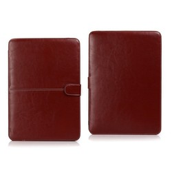 Premium PU Leather Smart Sleeve Case Cover for MacBook Models