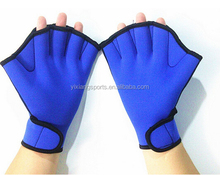 fitness neoprene swim gloves swimming webbed gloves