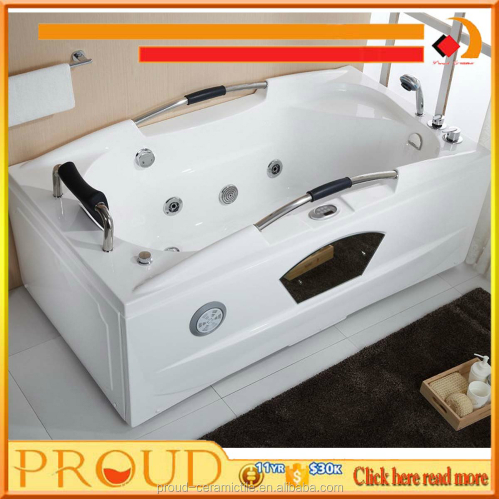 New Design Indoor Portable Massage Bathtub