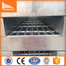 galvanized i bar steel grating floor walkway/heavy welded steel grating barrier