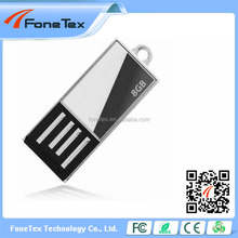 Wholesale Promotional gift custom metal usb flash 8GB made in China USB Key