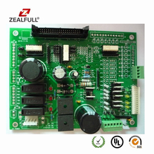Electronic sliding gate control board pcb assembly