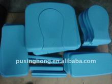 colorful wheelchair toilet pads