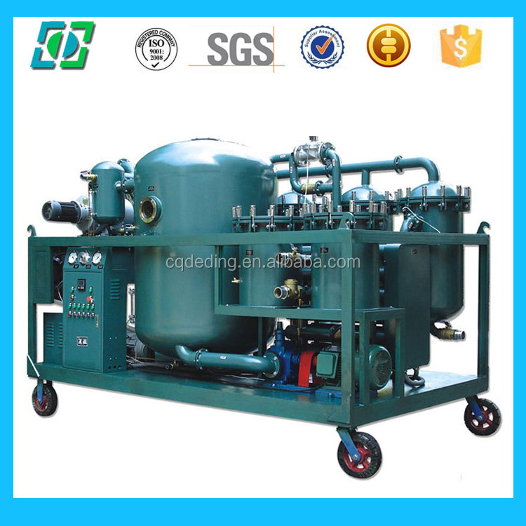 Two Stage Vacuum Used Transformer Oil Filter Machine