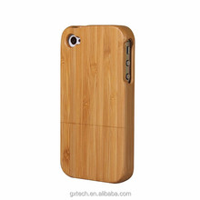 Simple Luxury Bamboo Mobile Phone Shell,Bamboo Phone Case, Bamboo Mobile Phone Case for iPhone 4S