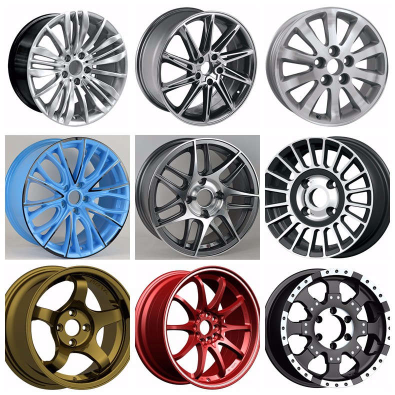 2016 New Brand Car Alloy Wheel Rim For Sale 15x7 15x8 16x7