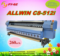 High Speed Digital Konica Flex Banner Printing Machine Price With Konica 512i Head Solvent Printer In China