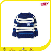 The high quality new design school uniform factory sweater designs for kids hand knitted