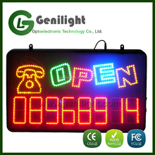 China New Inventions Electronic LED Sign 22*13 Inch Indoor LED Sign LED Billboard