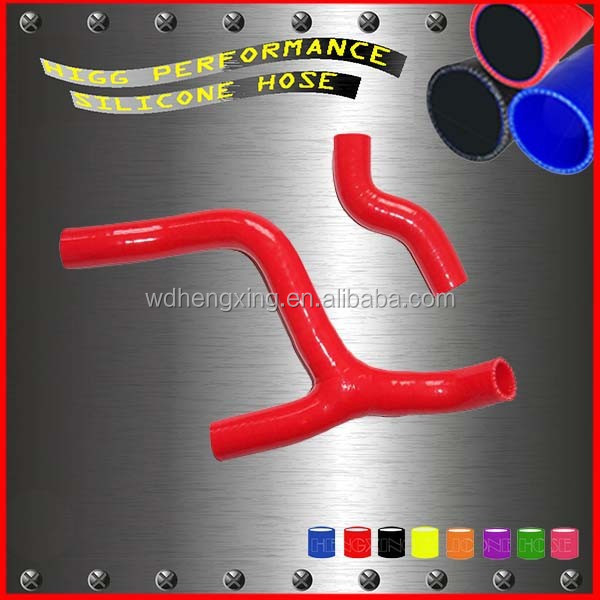Red motorcycle silicone rubber radiator hose for KTM 350SXF 350 SXF SX-F 2011 2012 parts Radiator Hose Y shape
