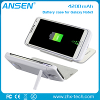 mobile phone accessories factory in china portable power bank external battery charger for samsung note3