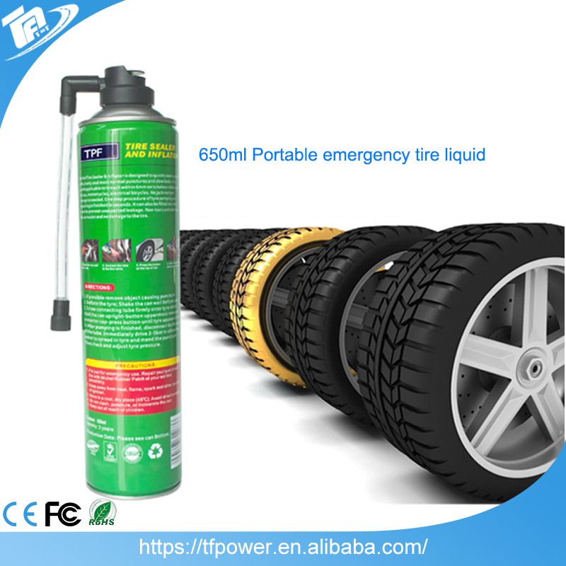 TPF Instant Puncture Repair Emergency Tire Sealer and Inflator Tyre Sealant