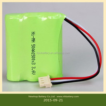 2015 HOT SALE Ni-MH rechargeable battery AA/AAA/F/D/C/SC 2.4V3.6V4.8V