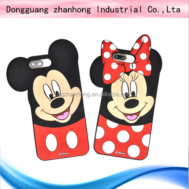 3D animal silicon case for samsung galaxy ace plus s7500