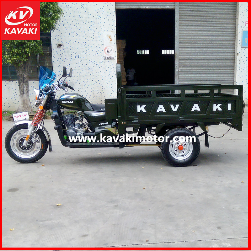 KAVAKI manufacturer 150cc high performance motorcycle tricycle, rickshaw truck, Chinese motor car