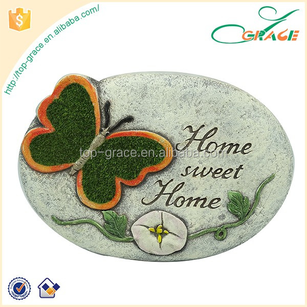 resin butterfly garden stepping stones for sale & garden decor