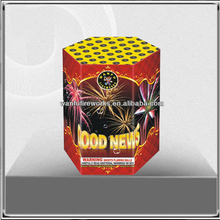 19 shots Chinese standard cake fireworks for sale