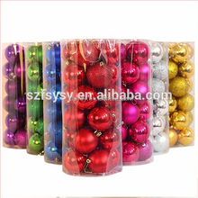 24 / barrel Christmas decor, balls, pendants, supplies, strength, factory stock