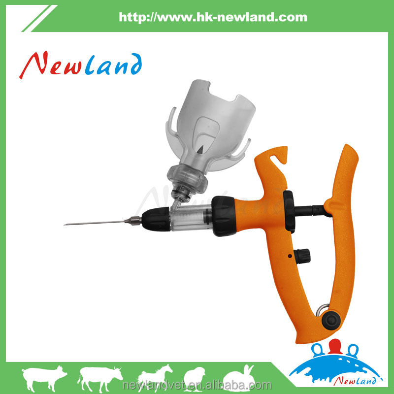 1ml 2ml 5ml High Quality Automatic Veterinary Syringes/vaccine/injector in animal healthy